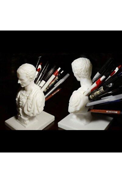 Ruan Sanat Jül Sezar Kalemlik Dekor Heykel