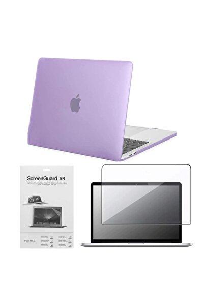 "CODEGEN Apple 13"" Macbook Air A2337 M1 Mor Uyumlu  Koruyucu + Ekran Filmi Cmatm-133pu"