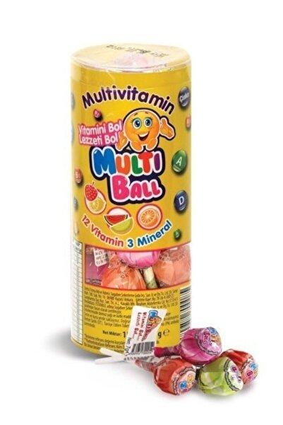 Multiball Lolipop Multivitamin 15'lik