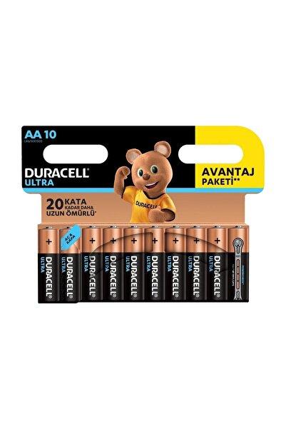 Duracell Duracell 10'Lu Ultra Kalem Pil AA