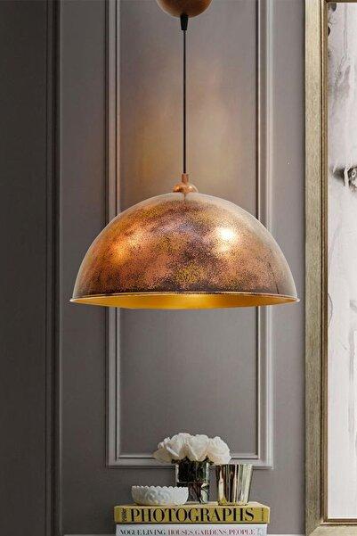 Bamyum Bakır Rengi Linate Avizetekli Sarkıt Retro Restoran Yemek Toplantı Odası Masaüstü Pastane Bar