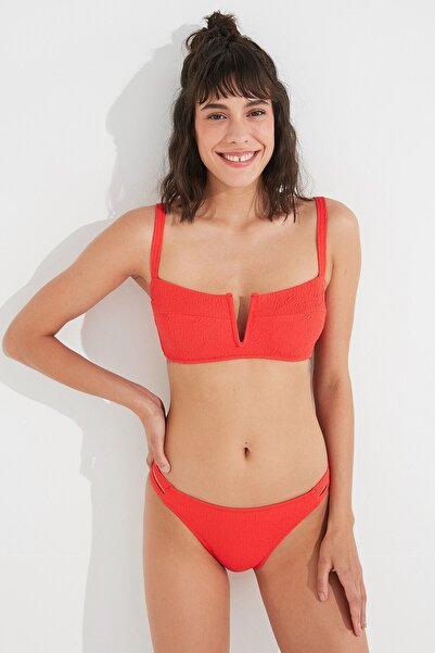Penti Kırmızı Eva Strapless Bikini Üstü