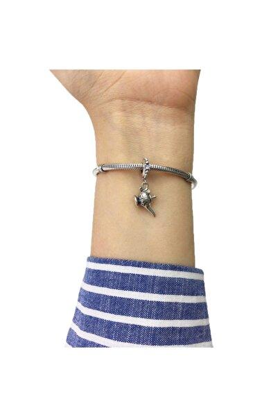 My Story Disney Sihirli Lamba Sallantılı Pandora Bilekliklerine Uyumlu Gümüş Charm