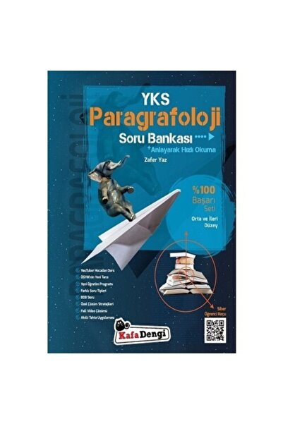 Kafa Dengi Yayınları Yks Paragrafoloji Orta Ve Ileri Düzey Soru Bankası Zafer Yaz