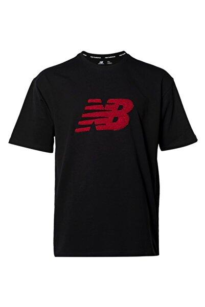 New Balance Nb Lıfestyle Tee Erkek Siyah Oversize T-shirt - Mpt3146-bk