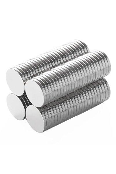 Anadolu Otantik 10x2mm Neodyum 20 Adet Yuvarlak Güçlü Mıknatıs