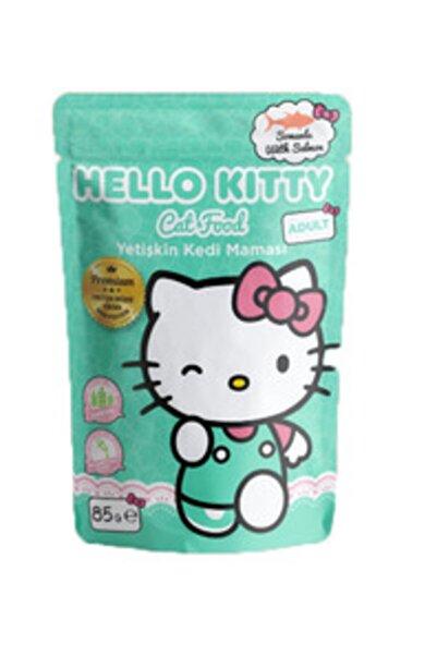Hello Kitty Somonlu Yetişkin Kedi Maması 85gr