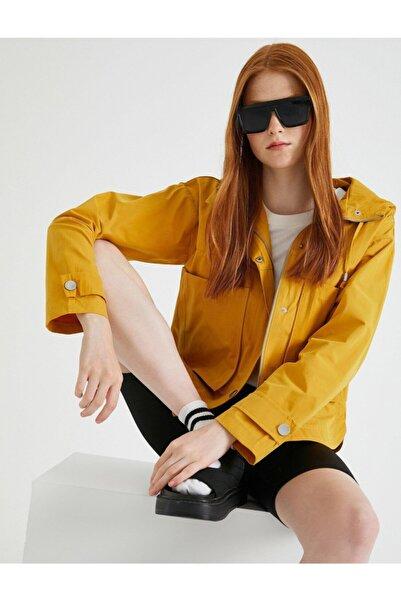 Koton Kapüşonlu Ceket
