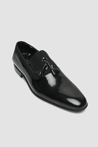 D'S Damat Erkek Siyah Smokin Ayakkabı