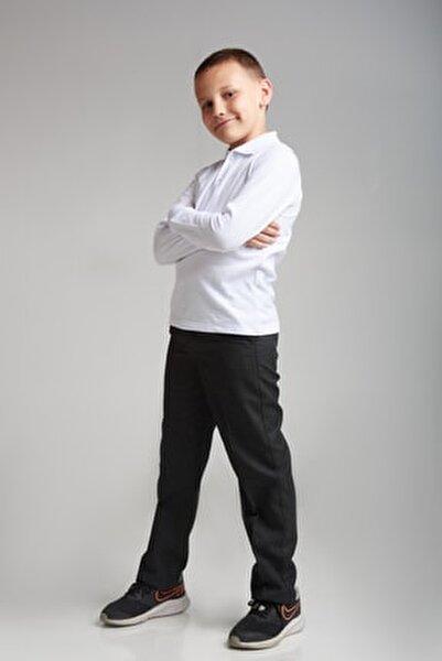 Erkek Çocuk Kumaş Okul Pantolon Siyah