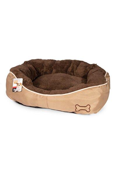Karlie Karlıe Köpek Yatağı 52*46*18 Cm Kahverengi