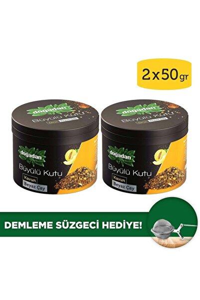 Doğadan Büyülü Kutu Beyaz Çay Kavun Dökme Çay x2