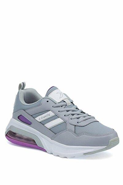 Kinetix Gri Kadın Sneaker Ayakkabı
