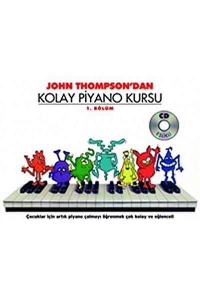 Porte Müzik Eğitim Merkezi John Thompson'dan Kolay Piyano Kursu 1. Bölüm