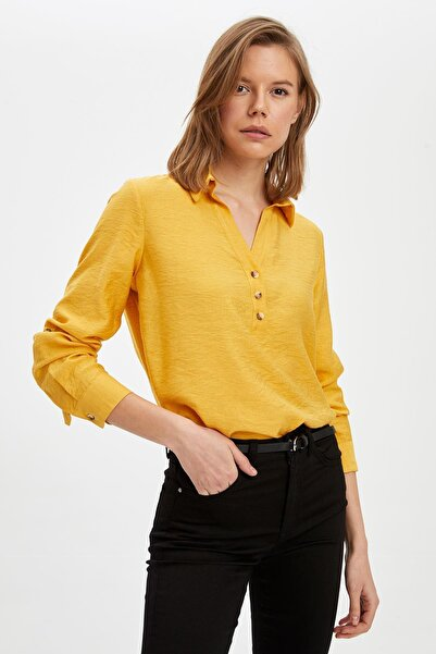 DeFacto Oversize Fit Uzun Kol Bluz