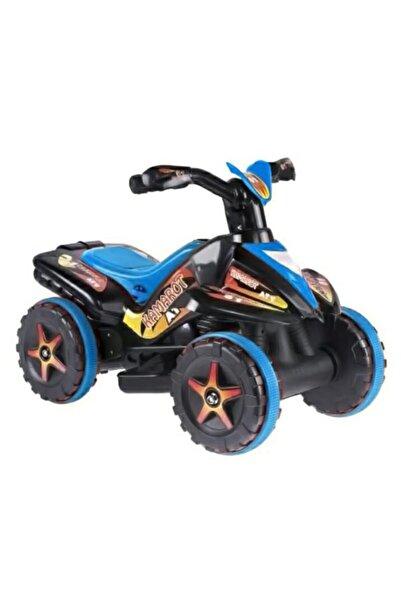 Kamarot 6v Akülü Motor Akülü Motorsiklet Mavi-siyah