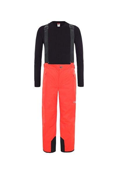 THE NORTH FACE Snowquest Suspender Plus Çocuk Pantolon Kırmızı