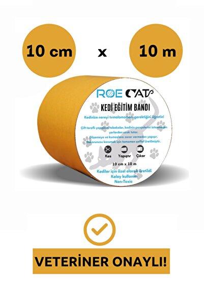 Roe Cat Kedi Eğitim Bandı, Mobilyalar Için Tırmalamaya Karşı Önleyici, %100 Şeffaf, Non-toxic, 10cm X 10m