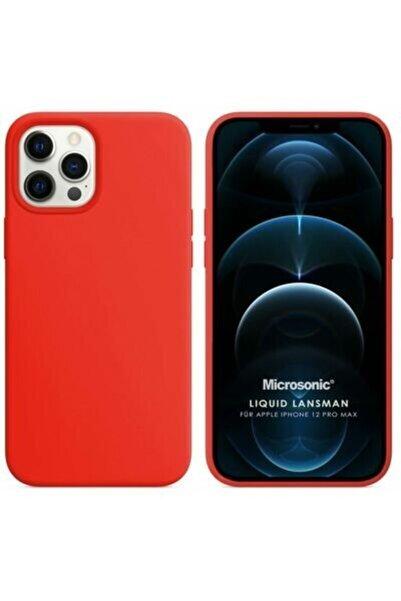 kilifstores Iphone 11 Pro Max Kılıf Lüx Slikon Kırmızı