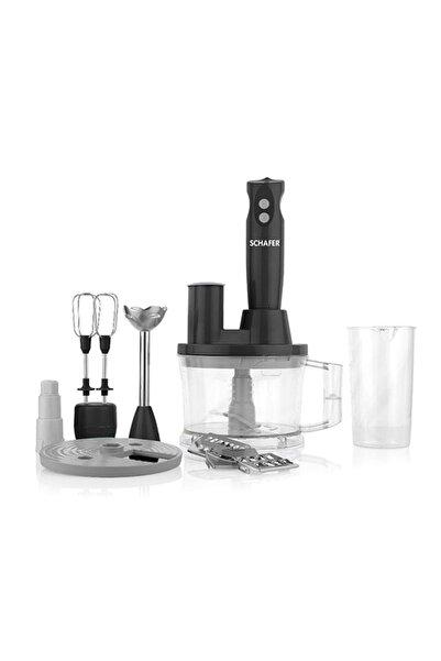 Schafer Elektro Chef Mega Blender Set-15 Parça -siyah