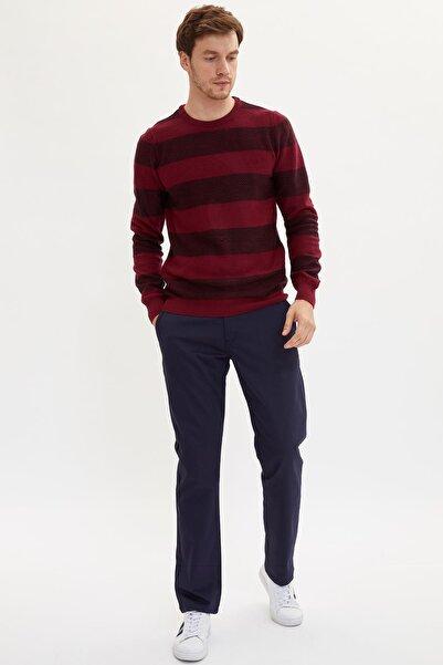 DeFacto Erkek Lacivert Regular Fit Chino Pantolon L2488AZ.19AU.NV128