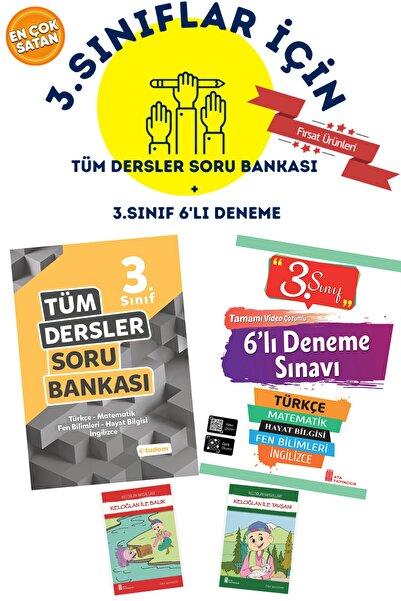 Tudem Yayınları 3.sınıflar Için Tudem 3.sınıf Tüm Dersler Soru Bankası + 4.sınıf 6'lı Deneme+ 2 Hikaye Hediyeli Set