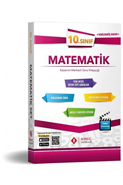 Sonuç Yayınları 10.Sınıf Matematik Kazanım Merkezli Modüler Set