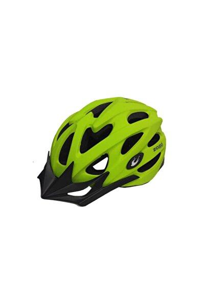 Zozo Mv 29 Lime Işıklı Bisiklet Kaskı M