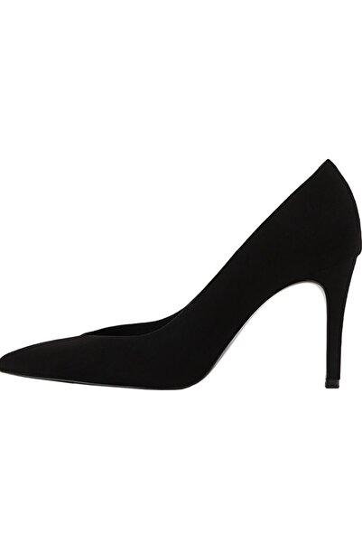 Stradivarius Kadin Siyah Ince Topuklu Ayakkabı