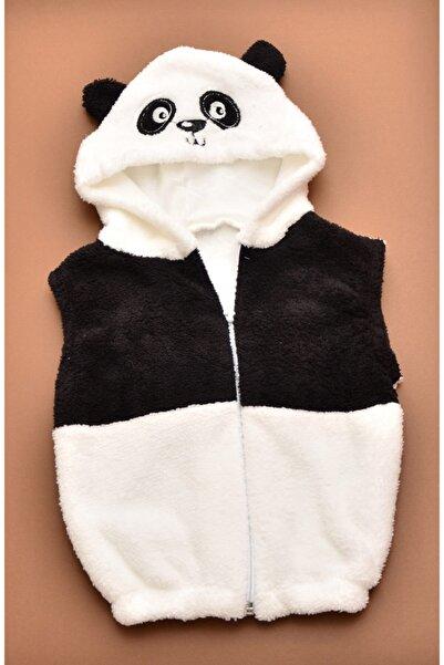 nurcix baby Nurcix Bebe Welsoft Panda Yelek 1-2-3 Yaş