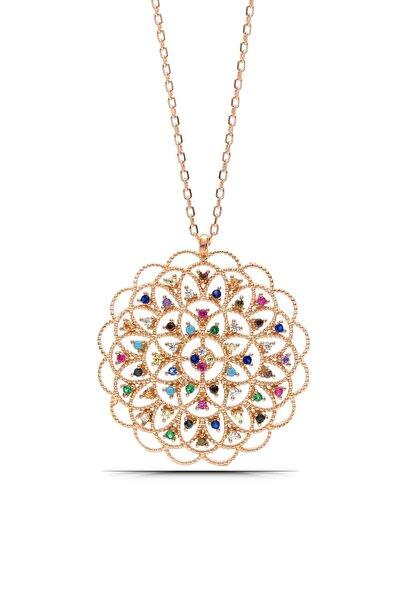 Parmas Design Kadın Yaşam Çiçeği 925 Ayar Gümüş Kolye