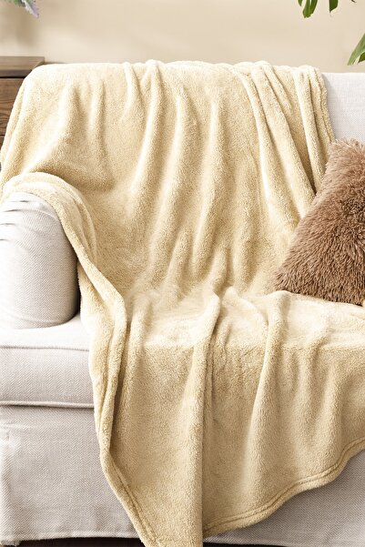 English Home Softy Wellsoft Tv Battaniye 120x170 Cm Camel