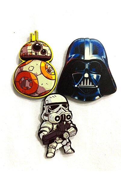 ZID Star Wars Magnet Set 3'lü