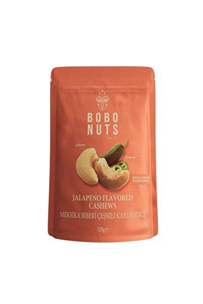 Bobonuts Bobo Nuts Meksika Biberi Çeşnili Kaju Fıstığı 120g