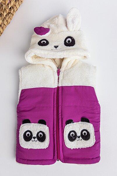 Babymod Panda Figürlü Welsoft Kız Çocuk Şişme Yelek