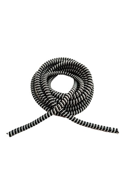 HONDEP Spiral Sarma Kablo Koruyucu Kılıf Siyah Sarmal Koruma, Apple Ve Android Şarj&kulaklık Aksesuar