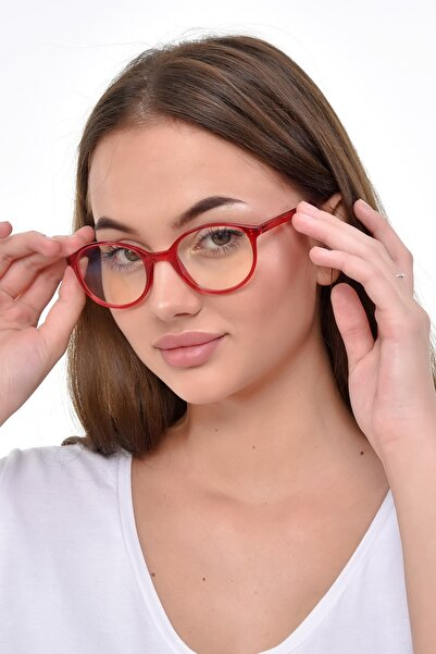 PETİTO VEGA  Kırmızı Mavi Işık Korumalı Ekran Gözlüğü (47-20-140 orta ölçekte ve hafif)