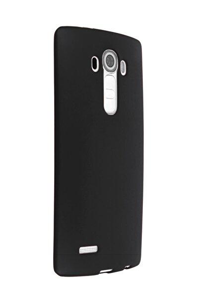 LG G4 Uyumlu Kılıf Premier Renkli Esnek Silikon Siyah
