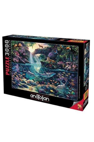 Anatolian Puzzle Ormanın Derinliği / Jungle Paradise Ana.4908 3000 Pcs