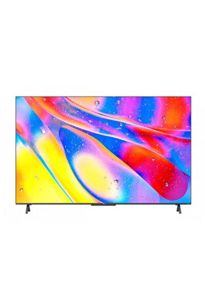 "TCL 55C725 55"" 139 Ekran Uydu Alıcılı 4K Ultra HD Android Smart QLED TV"