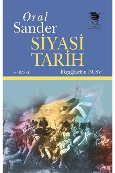 İmge Kitabevi Yayınları Siyasi Tarih Ilkçağlardan 1918'e