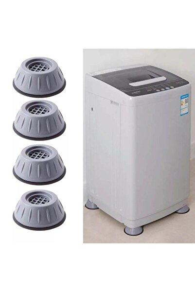 pazaromi Çamaşır Makinesi Titreşim Önleyici Kaydırmaz Vantuzlu Stoper Set 4 Adet