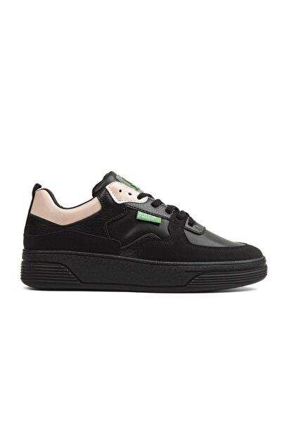 Benetton Bn-30374 Kadın Ayakkabı Siyah