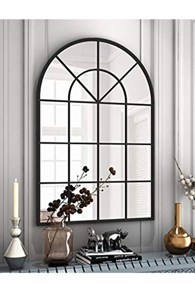 ahşapdekor Dekoratif Pencere Ayna(65*100)