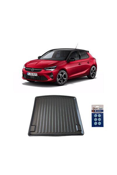 Gold Oto Aksesuar Opel Corsa F 2020-2021 Uyumlu Lüx Elmas Kesim Bagaj Havuzu