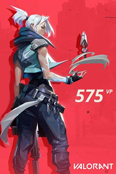 Riot Games 575 VP Valorant Point TR