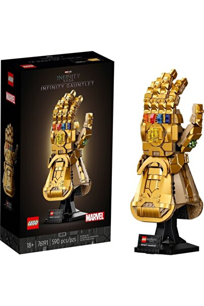 LEGO Marvel Sonsuzluk Eldiveni 76191  Sonsuzluk Taşlarıyla Thanos'un Sağ E