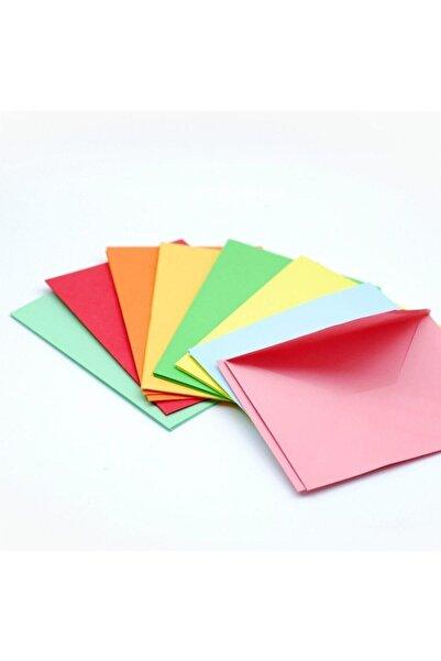 ASİL ZARF 4 Renk 40 Adet Renkli Mektup Davetiye Organizasyon Zarfı