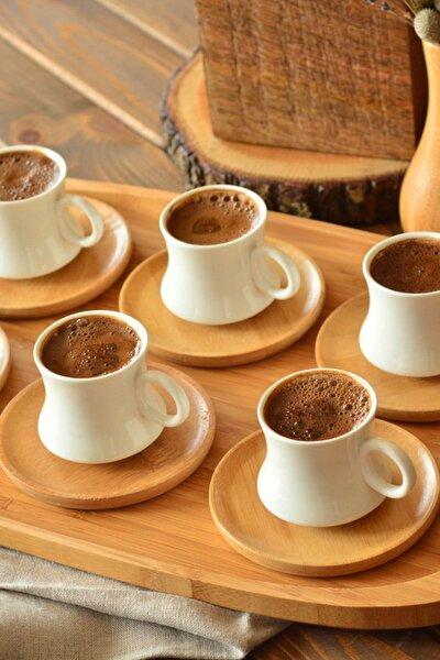 Bambum Largi 6 Kişilik Kahve Takımı B2776