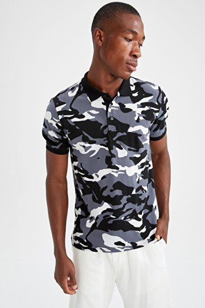 DeFacto Slim Fit Polo Yaka Kısa Kollu Polo Tişört